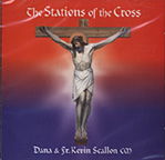 Stations of the Cross Music CD by Fr Scallon and Dana
