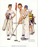 Missed Art Poster Print by Norman Rockwell