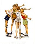 Oh Yeah Art Poster Print by Norman Rockwell