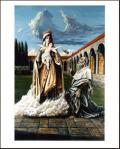 St. Simom Stock and Brown Scapular 16 x 20 Print - Matthew Brooks