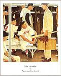 The Rookie Art Poster Print by Norman Rockwell