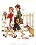 Scholarly Pace Art Poster Print by Norman Rockwell