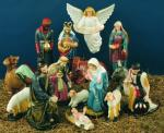 Nativity Set Indoor Outdoor Statues - Painted