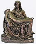 Pieta Statue - Indoor or Outdoor Statue - 25 Inch - Cold Cast Bronze