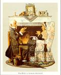 Tea Time Art Poster Print by Norman Rockwell